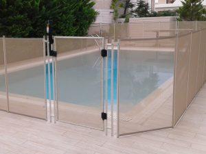 Περίφραξη πισίνας ασφαλείας