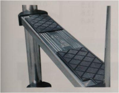 Σκάλα Inox AISI-316 Standard - 2 σκαλοπάτια luxe
