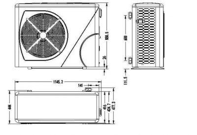 Αντλία Θερμότητας Pro Elyo Inverboost Plus NN 16kw