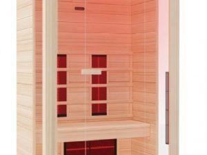 Sauna Solaris υπερύθρων 2 ατόμων