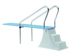 Βατήρας πισίνας Elevated μήκους 2,00 μέτρων με σκαλοπάτια