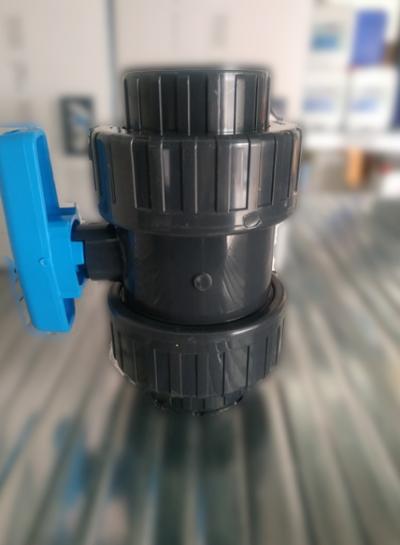 Βάνα PVC κολλητή Φ63mm Plimex