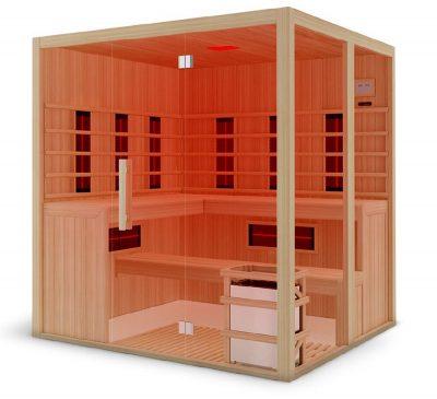 Eclipse combined sauna